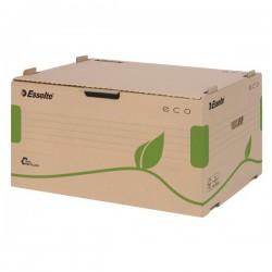 Esselte 623919, ECO archivační kontejner otvírání zpředu, na krabice 80/100 mm, hnědá