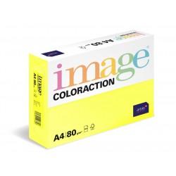 Papír barevný A4/80g Coloraction CY39 Canary středně žlutá, 500 ks