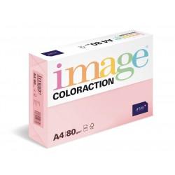 Papír barevný A4/160g Coloraction OPI74 Tropic pastelově růžová, 250 ks
