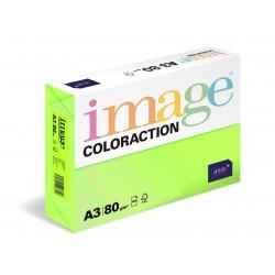 Papír barevný A3/80g Coloraction NeoGn Rio reflexní  zelená, 500 ks