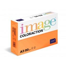 Papír barevný A3/80g Coloraction NeoOr Acapulco reflexní oranžová, 500 ks