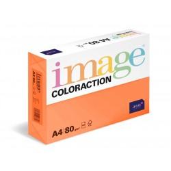 Papír barevný A4/80g Coloraction OR43 Amsterdam cihlově oranžová, 500 ks