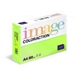 Barevný Xero Papír A4 - 80gr COLORACTION RIO reflexní zelená