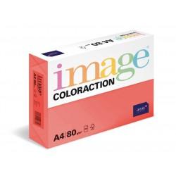 Papír barevný A4/80g Coloraction CO44 Chile jahodově červená, 500 ks