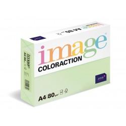 Barevný Xero Papír A4 - 80gr COLORACTION Jungle pastelově zelená