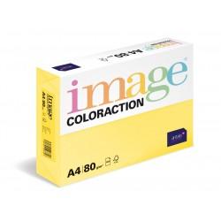 Barevný Xero Papír A4 - 80gr COLORACTION Desert pastelově žlutá