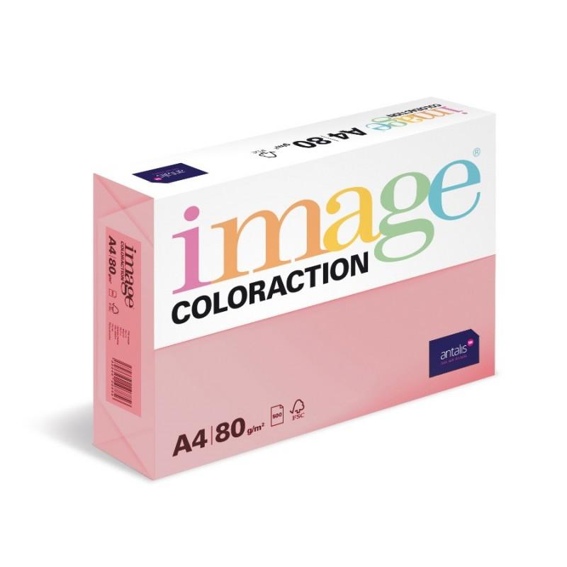 Barevný Xero Papír A4 - 80gr COLORACTION Coral starorůžová