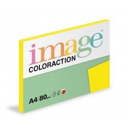 Barevný Xero Papír A4 - 80gr COLORACTION Sevilla sytě žlutá - 100listů v balení