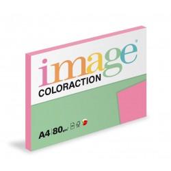 Barevný Xero Papír A4 - 80gr COLORACTION MALIBU reflexní růžová - 100listů v balení
