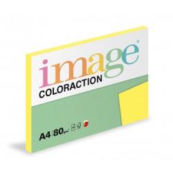 Barevný Xero Papír A4 - 80gr COLORACTION Canary středně žlutá - 100listů v balení