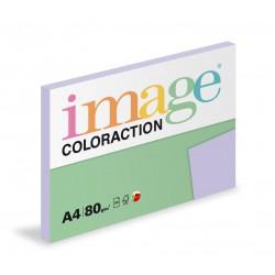 Barevný Xero Papír A4 - 80gr COLORACTION Tundra pastelově fialová - 100listů v balení