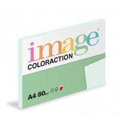 Barevný Xero Papír A4 - 80gr COLORACTION Lagoon pastelově světle modrá - 100listů v balení