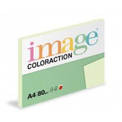 Barevný Xero Papír A4 - 80gr COLORACTION Jungle pastelově zelená - 100listů v balení