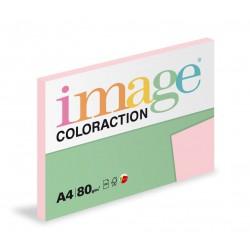 Barevný Xero Papír A4 - 80gr COLORACTION Tropic pastelově růžová - 100listů v balení