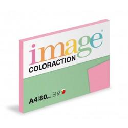 Barevný Xero Papír A4 - 80gr COLORACTION Coral starorůžová - 100listů v balení