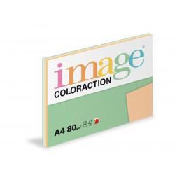 Barevný Xero Papír A4 - 80gr COLORACTION mix pastelových barev 5x20 listů