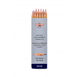 KOH-I-NOOR 3433  Tužka  červeno-modrá, délka 175mm