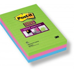 3M Post-it® bloček 5845 linkovaný silně lepící, 125x200mm, 45 lístků