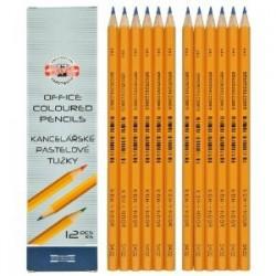 Koh-i-noor tužka barevná kancelářská 3431, červená