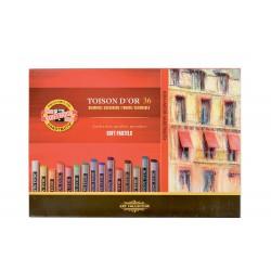 KOH-I-NOOR 8515 Souprava kříd prašných uměleckých, 36 barev