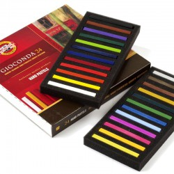 KOH-I-NOOR 8114 GIOCONDA, souprava kříd tvrdých uměleckých, 24 barev