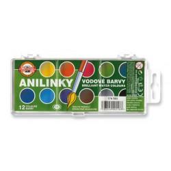 Barvy vodové Anilinky  Koh-i-noor 174503