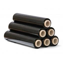 Ruční strečová fólie černá 50cm fixační , 2.1kg