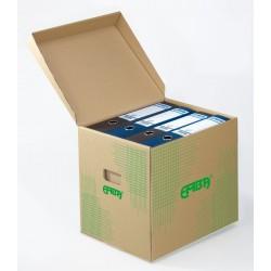 Emba Úložný box UB2, zelený tisk 330x300x295 mm