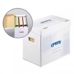 Emba Archivační kontejner na pořadače s modrým potiskem, 500x330x300 mm