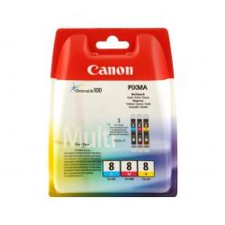 Inkoustová cartridge Canon CLI-8CMY, multipack