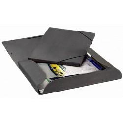 Emba Luxor krabice s gumou A4+, hřbet 4 cm, černá