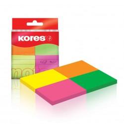 Kores Neonové bločky Multicolor 40x50