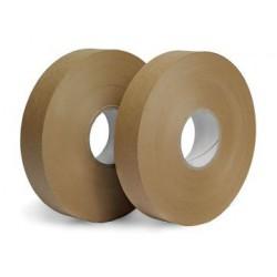 Páska lepicí papírová 25x200 m hnědá