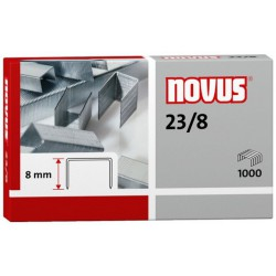 Novus Spony do blokové sešívačky 23/8, 1000ks