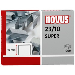 Novus Spony do blokové sešívačky 23/10 Super, 1000ks