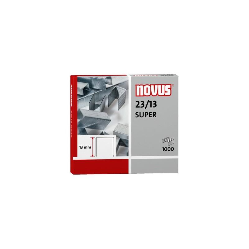 Novus Spony do blokové sešívačky 23/13 Super, 1000ks
