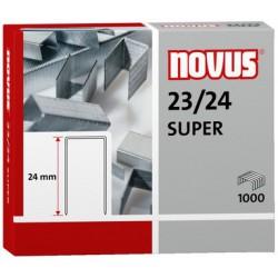 Novus Spony do blokové sešívačky 23/24 Super, 1000ks
