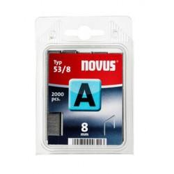 Spony do řemeslnických sponkovačů NOVUS 53/8, 2000 ks