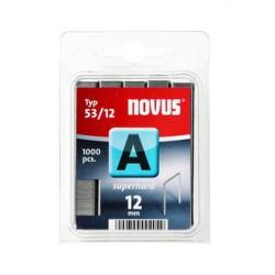 Spony do řemeslnických sponkovačů NOVUS 53/12 Super Hard, 1000 ks