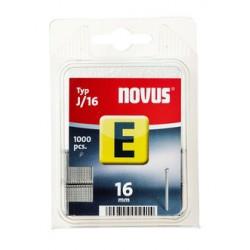 Spony do řemeslnických sponkovačů NOVUS J/16, 1000 ks