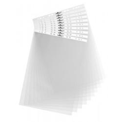 DURABLE 8566, transparentní kapsy pro stolní flipcharty