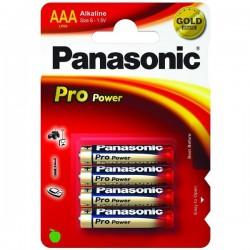 Panasonic Baterie tužková AA, LR6PPG Pro Power, 4ks