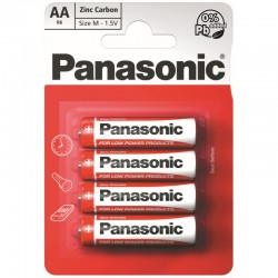Panasonic Baterie tužkové AA, R6R, 4ks
