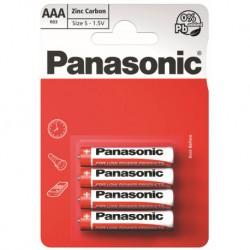 Panasonic Baterie mikrotužkové AAA, R03RZ, 4ks