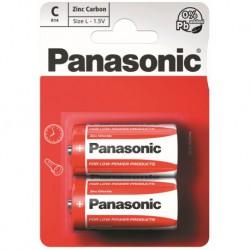 Panasonic Baterie monočlánek R14RZ, 2ks