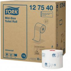 Tork Mid-Size 127540m toaletní papír jednovrstvý - kompaktní role, system T6