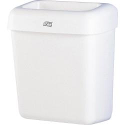 Tork Bin 563000, Odpadkový koš plastový bílý, objem 50 litrů, B1