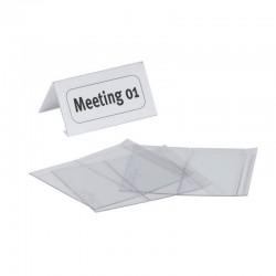 Durable 8047, jmenovka na stůl 52/104x100 mm PET plast