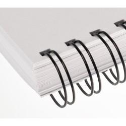 "Kovové hřbety 3/1"" barevné, 14.3mm, pro 101-120 listů, balení 50ks"