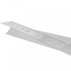 Pásek s univerzální perforací pro plastovou vazbu, 100 ks